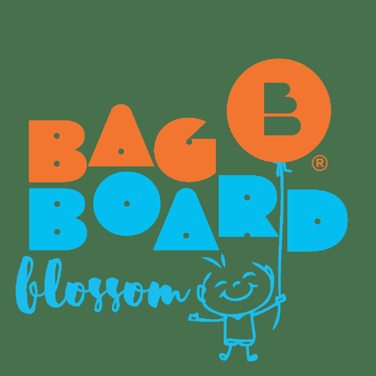 Logo bagboard jeu bois Blossom enfant