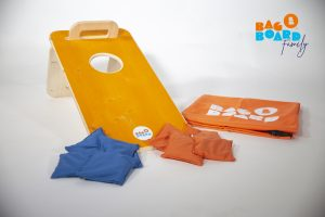 set bagboard family orange